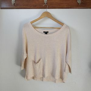 Loose Fit Knit Sweater